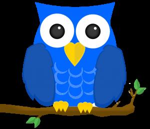 Slika modre sove